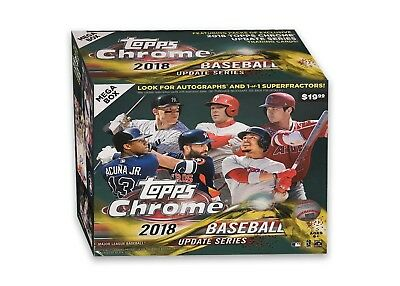 2018 Topps Chrome Update MEGA BOX Sold Out! Target Exclusive.