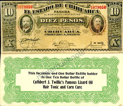 "Rare ""combo"" Prop Note From ""my Little Chickadee"" (1940) Mae West, W. C. Fields!"