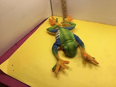 Folkmanis Plush Red Eyed Tree Frog, Moveable Mouth
