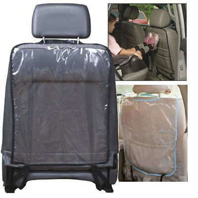 Car Auto Seat Back Protector Cover For Kid Kick Mat Storage Bag Clean Protection