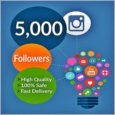 5000plus Great Instagräm Follower for your Account