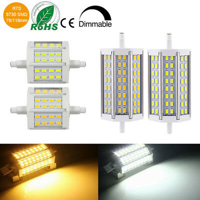 Dimmable 10W 15W R7s 78/118MM LED Ampoule Lampe Security Flood Stage Light Bulb