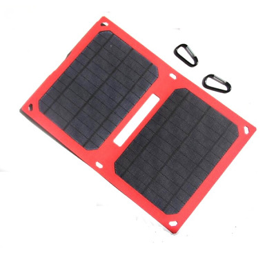 12W 5V Super Slim ETFE Laminated Folding Solar Panel Charger