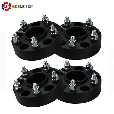 "4pc 1.5"" Wheel Spacers for Chevy Camaro 1982-2002 5x4.75 with 12x1.5 Studs"