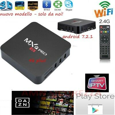 Smart Tv Box Mxq Pro Android 7.1 Ultra 4K 2Gb Ram 16 Gb Rom Iptv Full Hd
