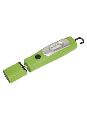 Sealey LED3602G, Rechargeable 360° Inspection Lamp 7 SMD + 3W LED Lithium-ion