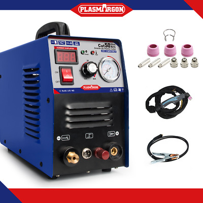 50A Plasma Cutter Pilot Arc 230V CNC Compatible WSD60p Torch+ Consumable 2019