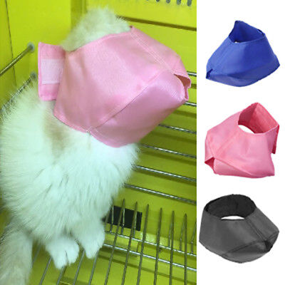 Anti Bite Cat Muzzles Nylon Cat Grooming Muzzle WashableH1