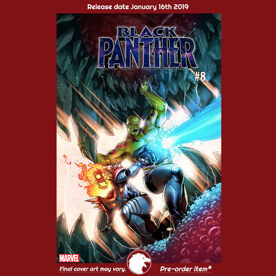 BLACK PANTHER #8 CAMPBELL GOTG VAR 1st Print (WK03.19) PREORDER JAN16th