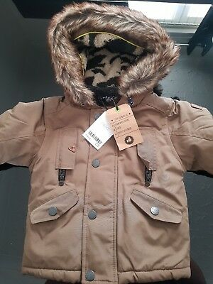 Next Boys Coat Brand New With Tags 6-9 Months