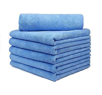 """24X Microfiber Deluxe Car Wash Polish House Cleaning Clothe 16/""""x24/"""" Mix Colour"""