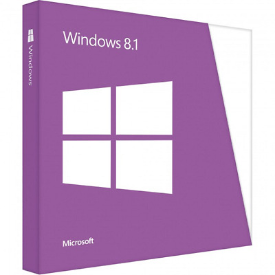 Microsoft Windows 8.1 HOME edition 1 PC 32/64 Bit Product key + Download Link