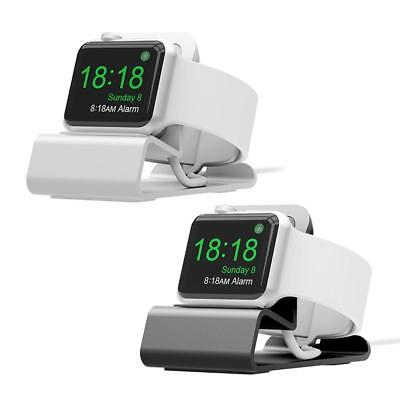 Aluminum TPU Charging Dock Station Stand Holder Bracket Support for Apple Watch