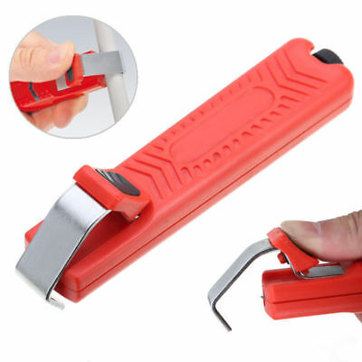 Wire Stripper Stripping Cutter Plier Crimping Tool For PVC Rubber Cable 8-28mm @