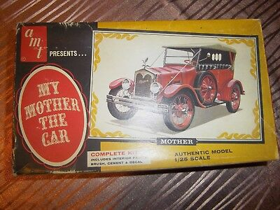 "Boite de maquette PORTER ""My mother the car"" AMT 904-170 de 1965"