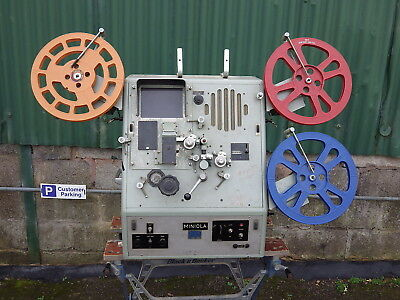 Acmade Miniola Professional 16Mm Film Editing Machine Reel To Reel