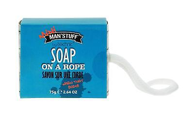 Mini Man'Stuff by Technic Soap on a Roap - Scented Soap Ideal Gift