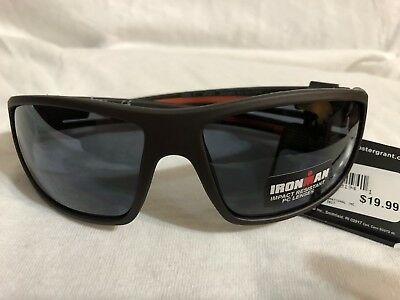 3 Pair Foster Grant Ironman ENERGETIC Mens Sport Sunglasses Gray 100/% UVA//B #259