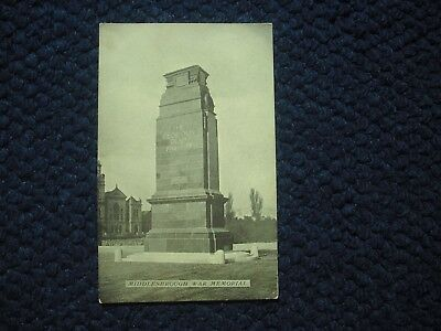 Postcard War Memorial, Middlesbrough, Yorkshire