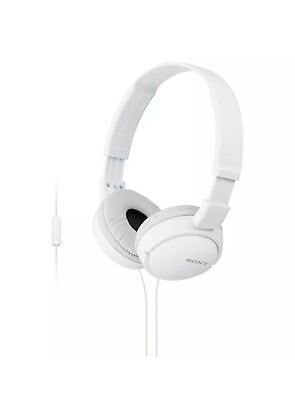 Sony MDR-ZX110 Stereo Monitor Over-Head Headphones White MDRZX110 NO BOX