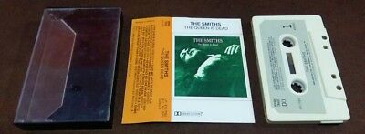 THE SMITHS 'THE QUEEN IS DEAD' 1986 BRAZIL 10-Track Cassette Top Rare 1st Press