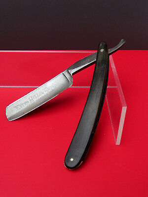 Straight razor Charles Hake Extra Hollow Ground Horn handle z. Restaurieren 23mm