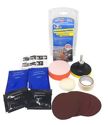 Headlight Restoration Kit Headlight Cleaner Headlight Polish Headlight Restorer