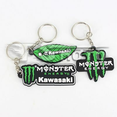 Motorcycle key ring Rubber key chain For Kawasaki ZX6R ZX636 ZX10R ZX14R ZX9R