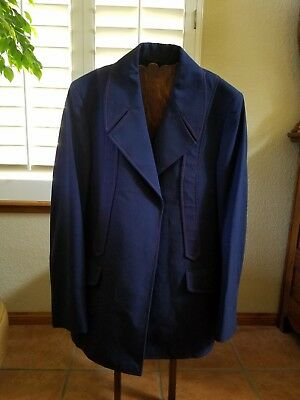 Train Conductors Uniform, Amtrak Jacket W/ Buttons And Pants, Very Nice Shape