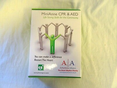 MiniAnne CPR and AED training device.   RW