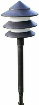 Set of 6 Low Voltage Garden Pagoda Lights With Transformer