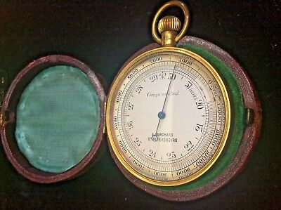 Compensated pocket barometer by A.Burchard