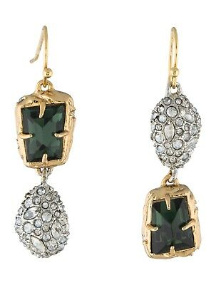 dace25a3d Alexis Bittar Mismatched Stone and Pave Pod Wire Drop Earrings Jewelry