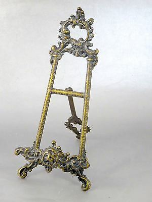 Antique Victorian Ornate PICTURE EASEL HOLDER STAND