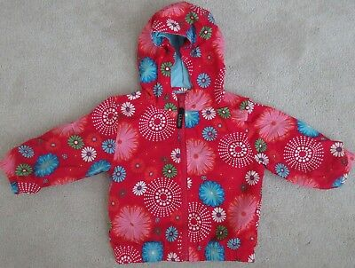 ll Bean Infant Jacket-12-18 months-Bright Colors-Flowers-Preowned