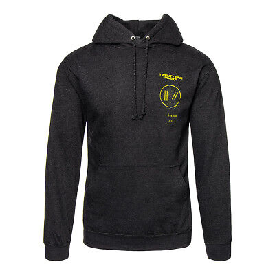 TWENTY ONE PILOTS Title Trench Black HOODIE - Official 21 Pilots Logo Sweatshirt