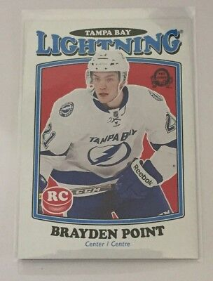 2016-17 Upper Deck O Pee Chee Retro Rookies #682 Brayden Point