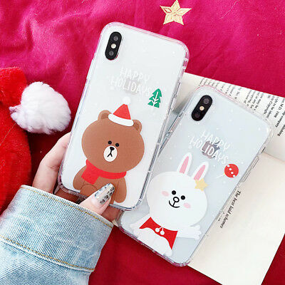 3D Hot Transparent Soft Phone Case Cover For iPhone X XS Max XR 6 7 8 Plus New