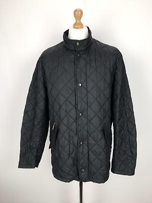 BARBOUR Mens Chelsea Quilted Jacket Coat | Country Outdoors | XL Black