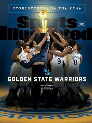 Golden State Warriors Soy Newsstand Sports Illustrated *mint Unopened*
