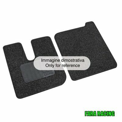 Allwetter Tappetini Tappetini in gomma per Mercedes Actros mp3 2008-2012 2 pezzi