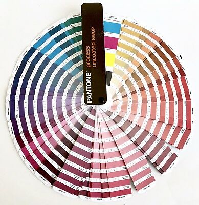 Pantone Formula Guide Process Uncoated SWOP 2001 Over 3,000 Colors Ex. Cond.