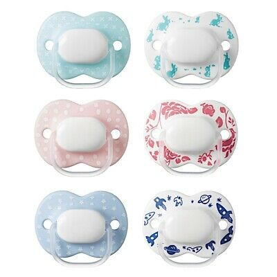 Tommee Tippee Little London Soother Twin Pack - 0-6m (Choice of Design) (A65)
