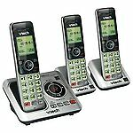 Vtech-3 Handset Cordless ANSWERING SYSTEM w Caller ID/Call Waiting-FREE SHIPPING