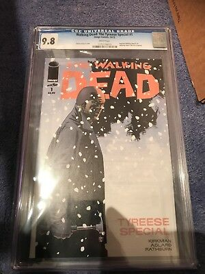 Walking Dead Tyreese Special #1 CGC 9.8.