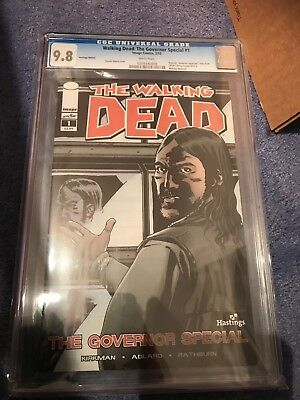 Walking Dead The Governor Special #1 CGC 9.8.