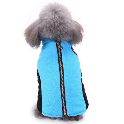 Dog Winter Comfy Soft Plush Jacket Dogs Coat Sweater Pet Outdoor Clothes