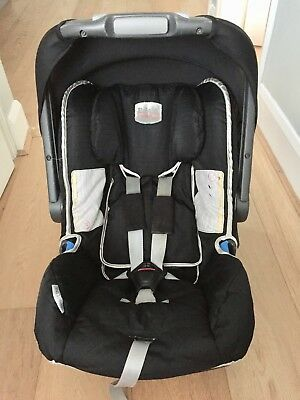 Britax Baby Safe Car Seat Group 0+ 5 Point Harness Black
