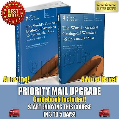 World's Greatest Geological Wonders: 36 Spectacular Sites DVD Great Courses New