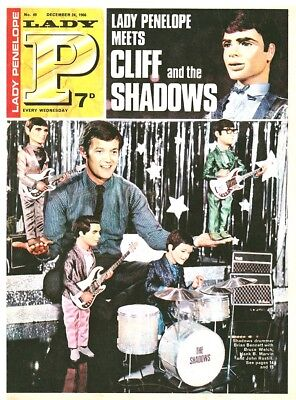 LADY PENELOPE 49 1966 Cliff Richard & Shadows / Man from Uncle/ Monkees